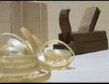 Декоративная деревянная стружка