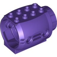 Engine, Large, Dark Purple (43121 / 6172384)