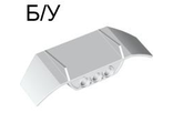! Б/У - Technic, Panel Car Spoiler 3 x 8 with Three Holes, White (61073 / 4527518) - Б/У