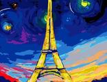 ночь в Париже 30х40