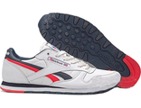Reebok Classic Leather White/Blue/Red (47-50)