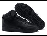 Nike Air Force мужские/женские черные (36-45)