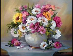 Цветы. Натюрморты