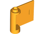 Door 1 x 3 x 2 Right - Open Between Top and Bottom Hinge (New Type), Bright Light Orange (92263 / 6186646)