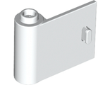 Door 1 x 3 x 2 Left - Open Between Top and Bottom Hinge (New Type), White (92262 / 6115627)