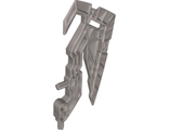 Bionicle Weapon Skull Warrior Axe, Flat Silver (20479 / 6114372)