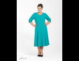 Удлиненное платье  Арт: 2505650-39  размеры 54-70
