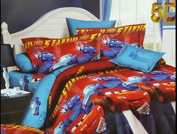 МАШИНКИ.Качественное и красивое постельное белье из поплина, только 100% хлопок.