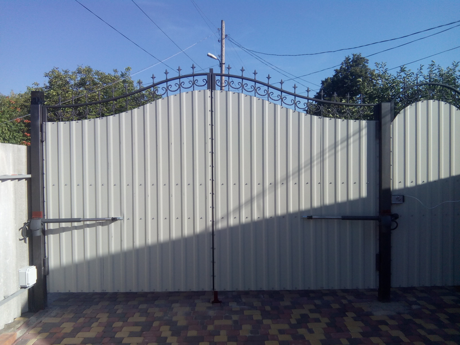 Купить распашных ворот в харькове микульские ворота киев фото