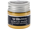 Acrylic Paint-Metallique Gold Rush 1.7oz