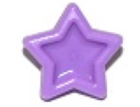 Friends Accessories Hair Decoration, Star with Pin, Medium Lavender (93080f / 6097073)