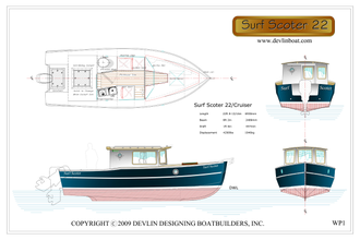 Катер Surf Scoter 22 Cruiser