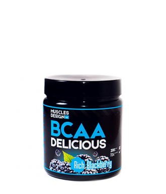 Muscles Design Lab BCAA rich blackberry (ежевика)