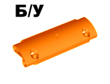 ! Б/У - Technic, Panel Curved 11 x 3 with 2 Pin Holes through Panel Surface, Orange (62531 / 4580022) - Б/У