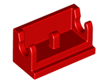 Hinge Brick 1 x 2 Base, Red (3937 / 393721)
