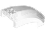 Windscreen 10 x 6 x 4 Curved, Trans-Clear (18729 / 6187664)