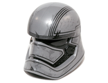 Large Figure Head Modified SW Captain Phasma Pattern, Flat Silver (24203pb01)
