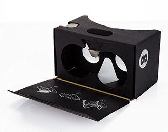 3D очки виртуальной реальности VR CARDBOARD KIT V2.0 (BLACK)