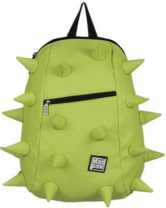 Молодежный рюкзак MadPax Rex VE Full Front Zipper Lime лайм