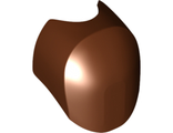 Large Figure Armor, Round, Smooth, Oval Cutout, Reddish Brown (35894 / 6220945)