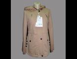 Женская весенняя куртка бежевая 002-097