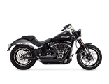 47233 VANCE&HINES SHORTSHOTS STAGGERED BLACK