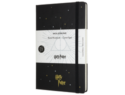 Записная книжка Moleskine Limited Edition HARRY POTTER 7/7, Large, черный