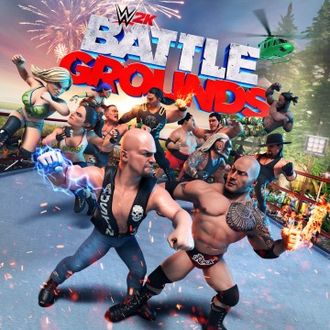 WWE 2K Battlegrounds (цифр версия PS4) 1-4 игрока