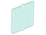 Glass for Window 1 x 2 x 2 Flat Front, Trans-Green (60601 / 6210803 / 6254567)