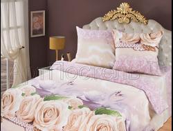 ГАРМОНИЯ.  Комплект постельного белья из набивной бязи традиции текстиля, цельнокройное, хлопок 100%