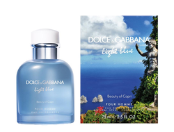 Dolce & Gabbana Light Blue Beauty of Capri Pour Homme 100ml