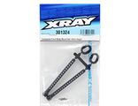 XRAY Adjustable Front Body Mount Set (+2mm)