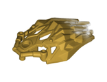 Bionicle Crystal Armor with Marbled Trans-Clear Pattern, Pearl Gold (24166pb01 / 6147740)