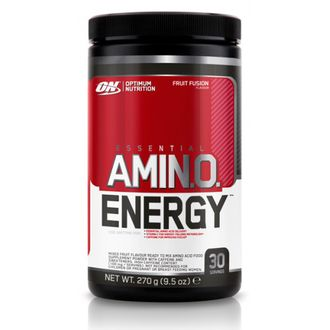 (Optimum Nutrition) Amino Energy - (270 гр) - (клубника-лайм)