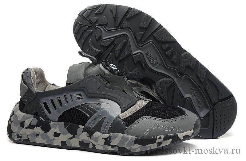 Puma Disc Blaze серые кроссовки (артикул-1)