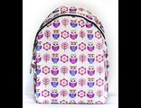 Подростковый городской рюкзак с совами для девочек SLA00110