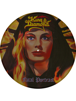 KING DIAMOND Fatal portrait LP Picture