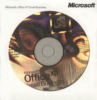 Microsoft Office XP Small Business Edition 2002 OEM 588-02525