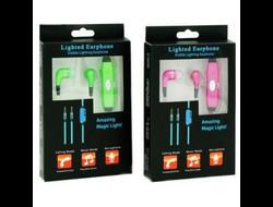 Светящиеся наушники Light Ear Phone
