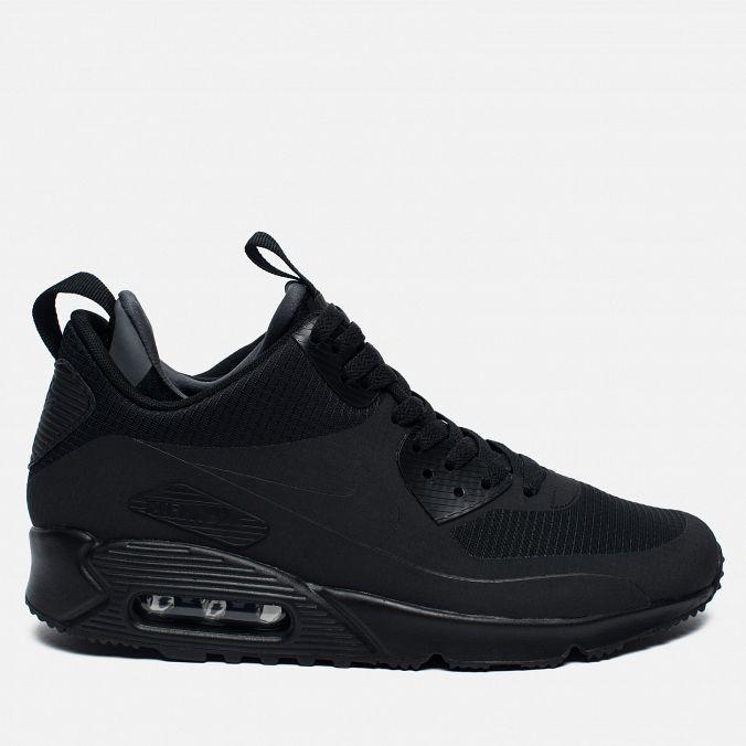 16bc0e5f Купить Nike Air Max 90 Sneakerboot All Black купить, в Екатеринбурге, купить  кроссовки в интернет-магазине недорого в Екатеринбурге