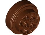 Wheel 31mm D. x 15mm Technic, Reddish Brown (60208 / 6153414)