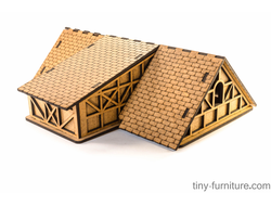 Modular House Kit: City shop - Roof