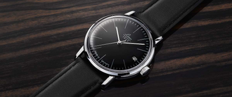 Часы мужские LACO VINTAGE 34 MM BLACK AUTOMATIC 861846