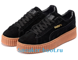 Puma x Rihanna Creeper Black/Black/Oatmeal (36-40)