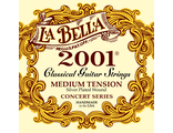 Струны нейлоновые La Bella Classical Guitar Strings 2001 Medium Tension
