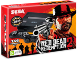 Sega Super Drive Red Dead Redemption 2 (166-in-1) Black.