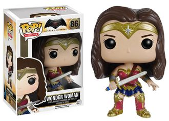 "Funko POP Heroes: Batman vs Superman "" Wonder Woman"" Action Figure №80 - ФАНКО ПОП! Герои: Бэтмен против Супермена ""Чудо-женщина"" фигурка №80"