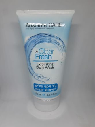 Absolute care Clear&Fresh exfoliating daily wash 150ml