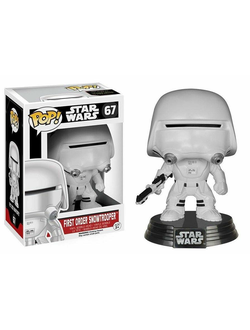 Star Wars Episode VII 1st Order Snowtrooper Funko POP! Vinyl Figure | Фанко Поп! Первый ордер Сноутрупер