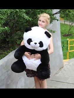 Маленькая панда Маргарита (80 см)